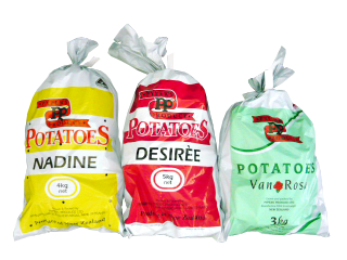 Nadine, Desiree and Van Rosa Potatoes by Pyper's Produce