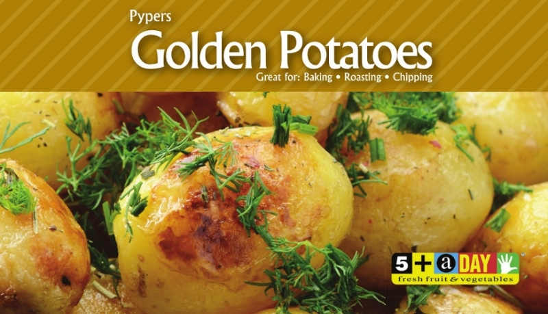 Pypers Golden Potatoes
