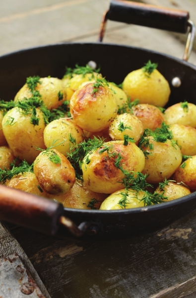 Roasted New Potatoes with Thyme